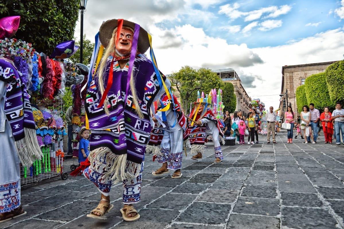 Meksika tevo diena karnavalas